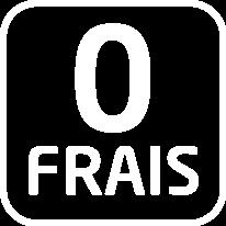 icone zéro frais